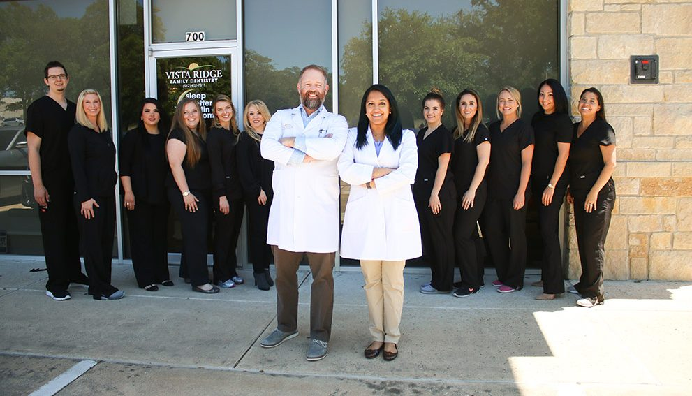 Vista Ridge Family Dentistry team